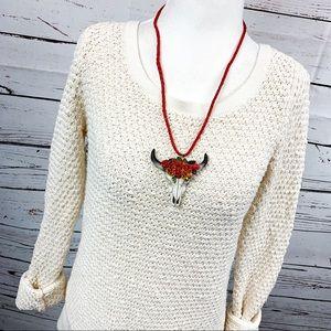Lou & Grey Sweaters - Lou & Grey LOFT Cream Loopstitch Knit Sweater